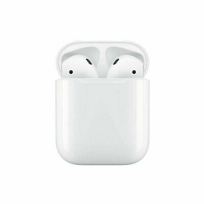 NEW Apple AirPods 2nd Generation with Wireless Charging Case White UK Free P&P