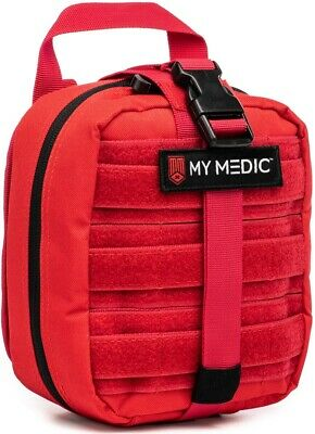 NEW My Medic The MYFAK Basic Emergency First Aid Kit Red