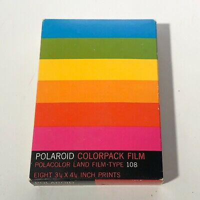 Vintage Polaroid Film Sealed expired 70's
