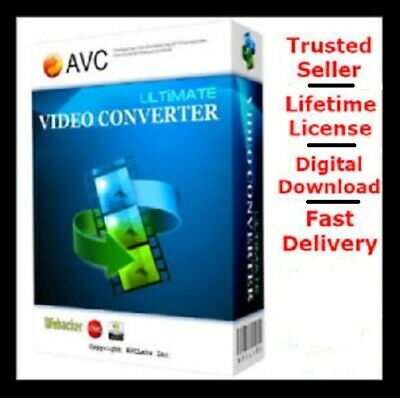Any Video Converter Ultimate Lifetime Licence ✔️ Full Version ✔️ 100%Genuine