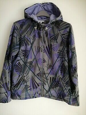FAT FACE ladies/girls zip up sports hoody jacket size 14