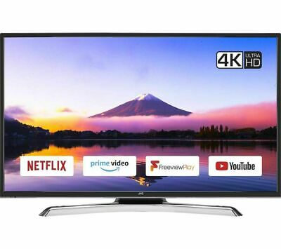"JVC LT-40C890 40""Smart 4K Black TV GIFT Ultra HD Wifi freeview HDR LED TV NEW UK"