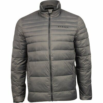 Oakley Down Mens Bomber Jacket Forged Iron