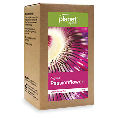 Planet Organic Organic Passionflower Loose Leaf Tea 50g Herbs