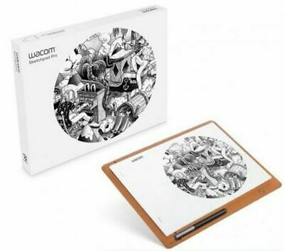 Wacom Sketchpad Pro Drawing Tablet - Genuine Leather Windows, Mac, iOS, Android