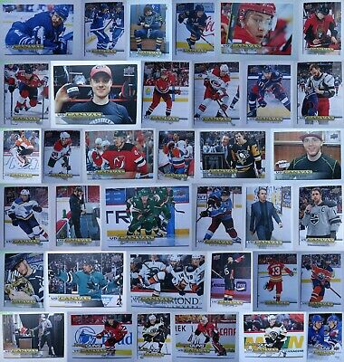2019-20 Upper Deck Series 1 Canvas Young Guns Complete Your Set U You Pick 1-266