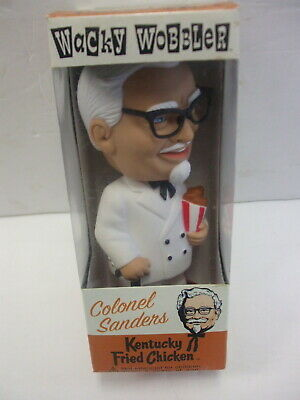 Funko Wacky Wobbler Colonel Sanders Kentucky Fried Chicken Bobblehead