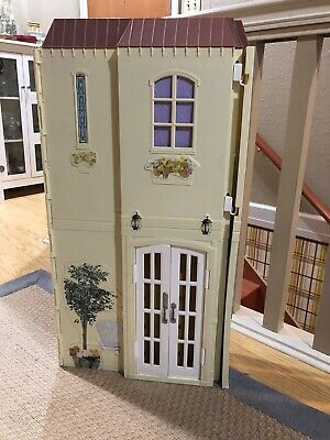 Barbie Happy Family Smart House Sounds like Home doll house Mattel 2004 - Works!