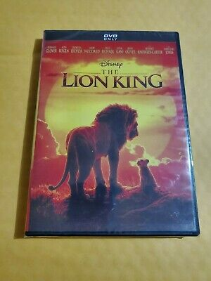 The Lion King (DVD, 2019) Live Action Disney Film