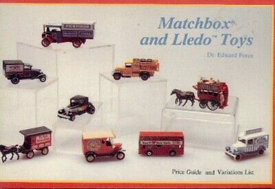 Matchbox and Lledo Toys, Price Guide