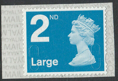 GB 2019 2nd LARGE S/ADHESIVE MACHIN CODE MBIL M19L SBP2i MNH From Business Sheet