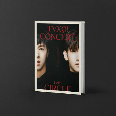 TVXQ! CONCERT- #WITH CIRCLE- 184p Concert Photobook+Photocard+Track + Store Gift