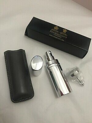 New Penhaligon's Fragrance Perfume Travel Atomiser With Leather Case & Funnel