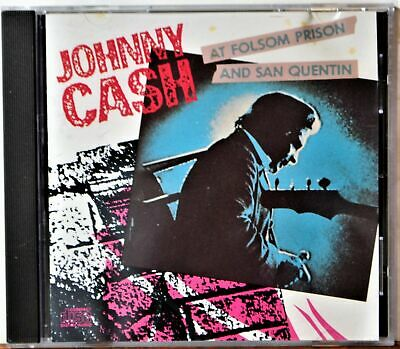 1 CENT CD At Folsom Prison and San Quentin - Johnny Cash COUNTRY