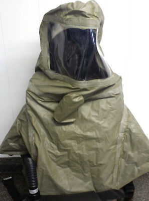 Scotts Safety PROFLOW 3 PAPR Respirator Air Butyl Face Mask, Army Green Hood