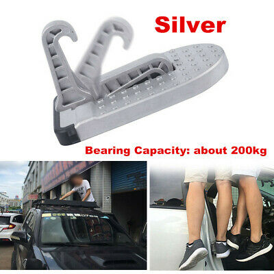 Portable Car Hook Step Ladder Latch Door Truck SUV Off-road Folding Foot Pedal