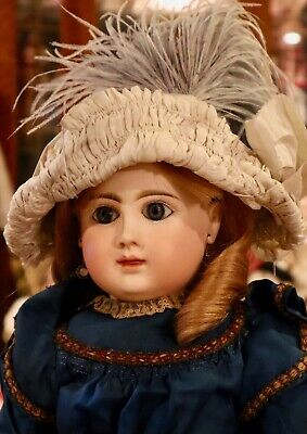 "20"" Antique C1880 French Bisque Bebe Phenix Star Jules Steiner w/Great Outfit"