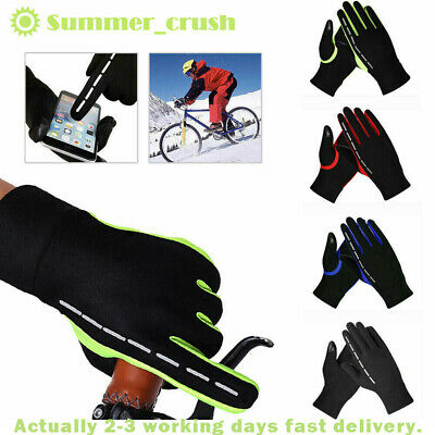 Winter Warm Windproof Waterproof Anti-slip Thermal Touch Screen Gloves UK