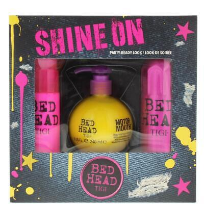 TIGI Bed Head Shine On Gift Set For Her - Party-Ready Look Damaged Box