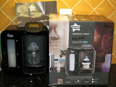 Black Tommee Tippee Perfect Prep DAY & NIGHT Machine, BLACK, New & Boxed