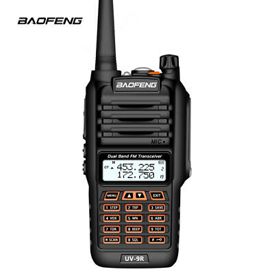 Baofeng UV-9R Plus Waterproof Walkie Talkie IP67 Dual Band Ham Radio Amador UV 9