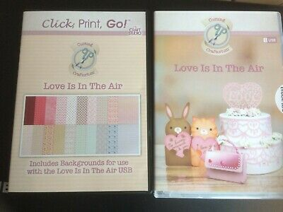 Cutting Craftorium 'Love Is In The Air' USB with Click, Print Go