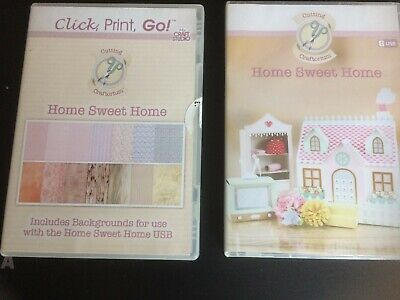 Cutting Craftorium 'Home Sweet Home' USB with Click, Print Go CD
