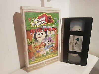 Pound Puppies and the Legend of Big Paw -  Rare Big Box Release - Ex Rental