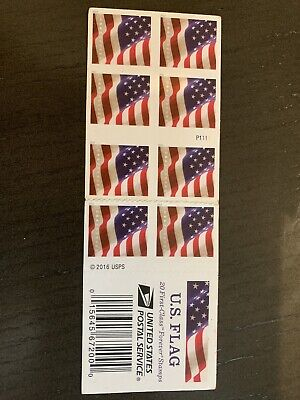 USPS B01MYDWCOL US Flag 2016 Forever Stamps - 20 Pieces