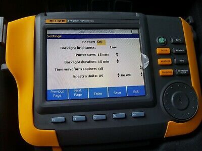 Fluke 810 Vibration Analyser. Brand New and Unused!