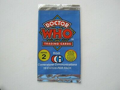 Doctor Who Series 2 Cornerstone Communications Empty Trading Card Wrapper