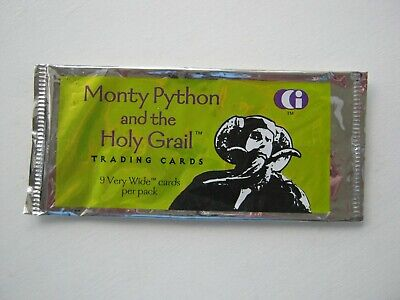 Monty Python And The Holy Grail Empty Trading Card Wrapper