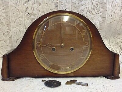 Deco, Smiths Enfield Striking Clock. Works Well But Doesn't Strike