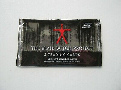 The Blair Witch Project Topps Empty Trading Card Wrapper