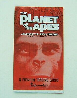 The Planet Of The Apes Archives Volume 1 Empty Trading Card Wrapper