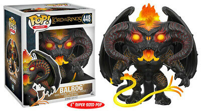 The Lord of the Rings Movies Balrog Vinyl POP! Figure Toy #448 FUNKO NEW MIB