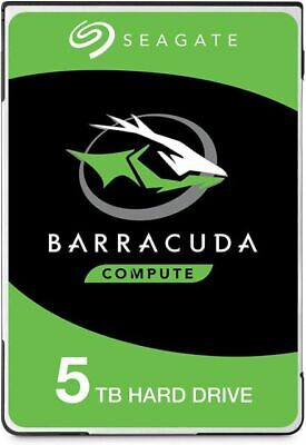 "Seagate BarraCuda 5TB 2.5"" SATA Internal Hard Disk Drive HDD 5400RPM 128MB"