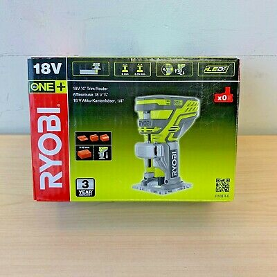 Ryobi R18TR-0 Cordless Trim Router - Body Only *NEW BOXED*