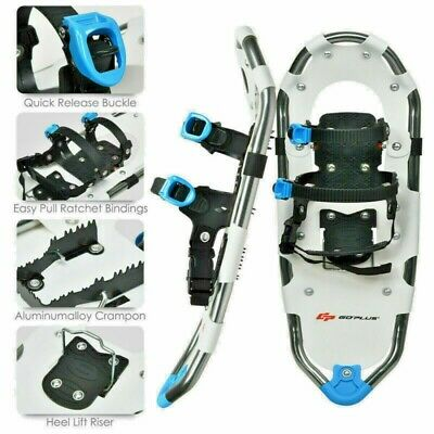 Snowshoes Aluminium All Terrain Snow Shoes With Adjustable Ratchet Binding M+W