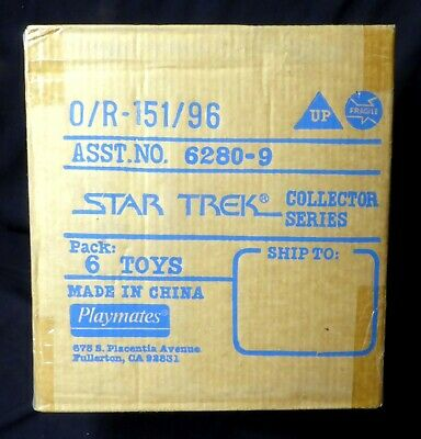 Star Trek Playmates Toys 6280-9 9 Inch Figure Case Amricons