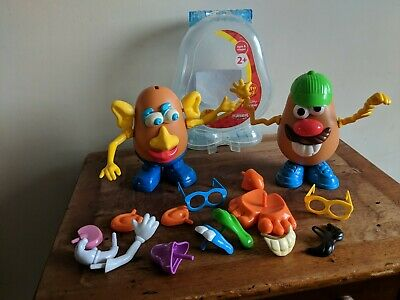 Mr & Mrs Potato Head Bundle vintage 1985 & later 2010 playskool job lot