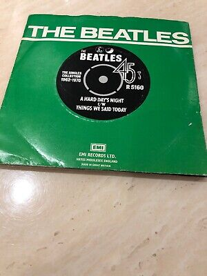 The Beatles Vinyl Single A Hard Days Night