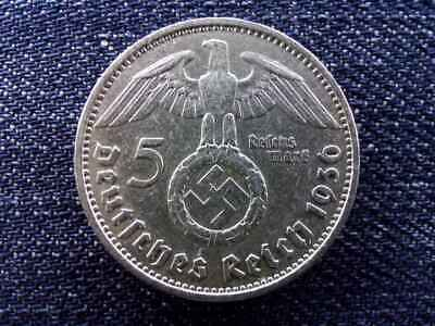 45 Eagle /& Swastika German 2 Reichsmark 1937-1939 Silver coin with