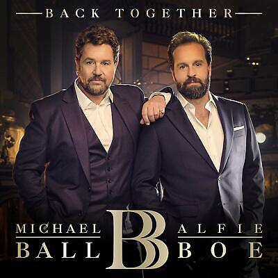MICHAEL BALL & ALFIE BOE BACK TOGETHER CD (Released November 8th 2019)