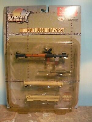 Ultimate Soldier Modern Russian RPG Set  Weapons NEW Factory Sealed