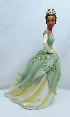 Disney Enesco Figurine Showcase Haute Couture 6005687 Tiana