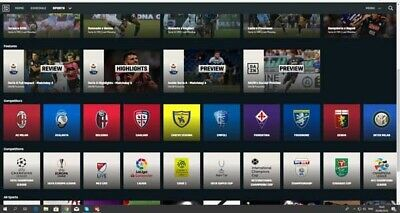 1 Mese Dazn Germania Tedesco Visibile In Italia! Tutta Serie A,Champions League