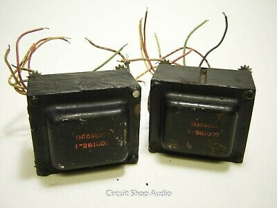 Pair of Vintage Tube Power Transformers / 800195-1 -- KT