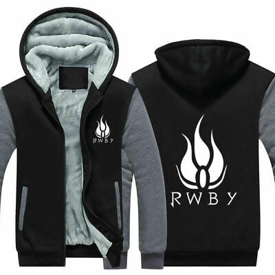 RWBY zipper Hooded fashion Cosplay Hoodie Sweatershite Jacket Costume coat top