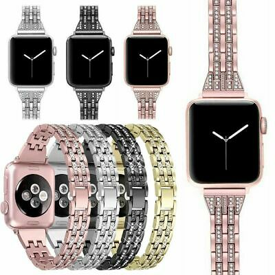For Apple Watch 5/4/3/2/1 Stainless Steel Bracelet iWatch Band Strap 38MM 44MM